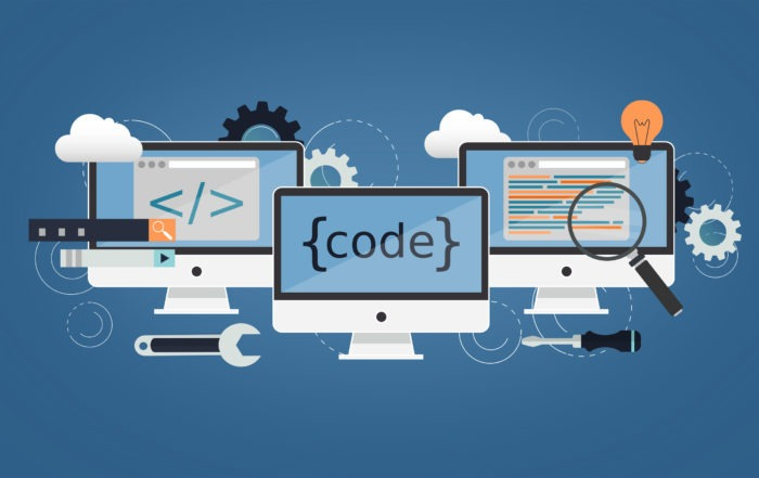 Webdesign Koding Programmering